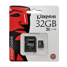 Kingston memoria card microsd class 10 32GB