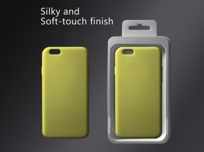 Cover 04 custodia in silicone per iphone 6 plus