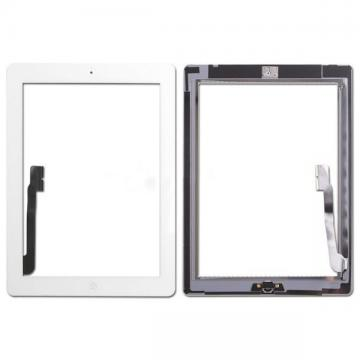 TOUCH E VETRO CON HOME E COLLA PER APPLE IPAD 3 A1416 A1430 A1403 COMPATIBILI