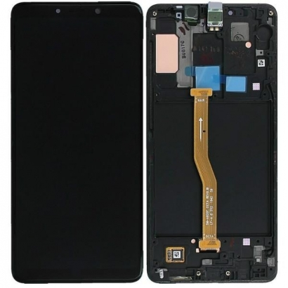 SAMSUNG A920F Nero Display per Galaxy A9 (2018)