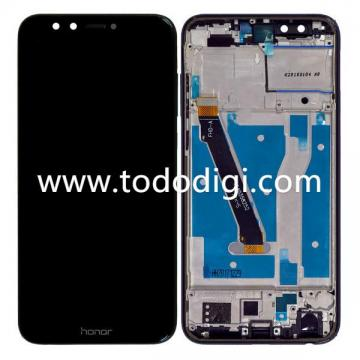 DISPLAY LCD  TOUCHSCREEN DISPLAY COMPLETO + FRAME PER HUAWEI HONOR 9 LITE  ORI