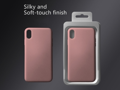 Cover 04 custodia in silicone per iphone Xs Max