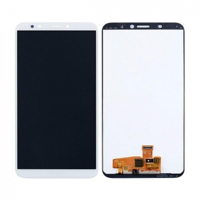 TOUCHSCREEN + DISPLAY LCD DISPLAY COMPLETO SENZA FRAME PER HUAWEI ENJOY 8 / HONOR 7C / Y7 2018 / Y7 PRO 2018 / Y7 PRIME 2018