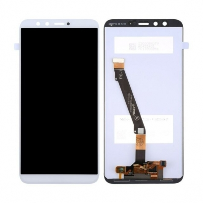 Display lcd + touch completo senza frame per Huawei Honor 9 lite originale bianco