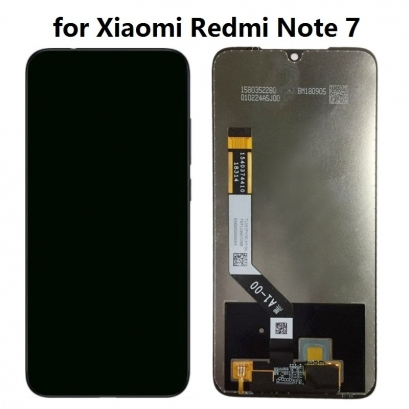 Display lcd + touch completo senza frame per xiaomi redmi note 7 originale