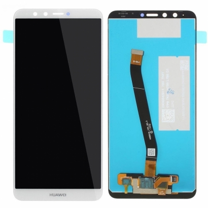 Display lcd + touch completo senza frame per Huawei y9 2018 / enjoy 8 plus originale