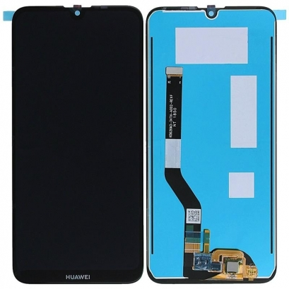 Display lcd + touch completo senza frame per Huawei y7 2019 originale