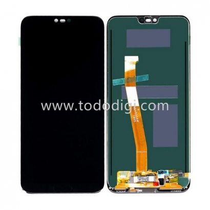 Display lcd + touch completo senza frame per Huawei honor 10 originale nero