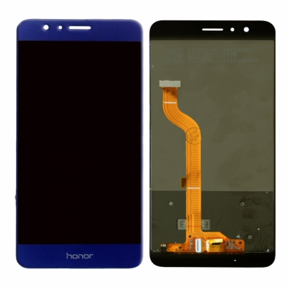 Display lcd + touch completo senza frame per Huawei honor 8 originale blu