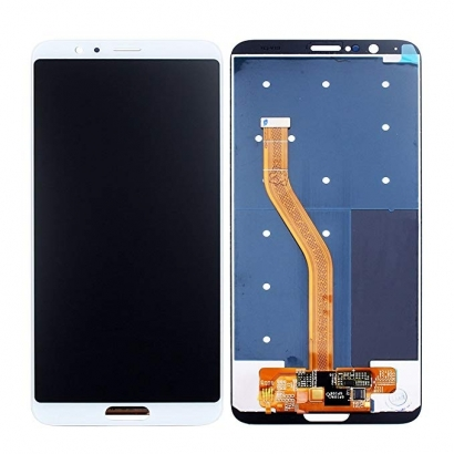 Display lcd + touch completo senza frame per Huawei view 10 / honor v10 bianco