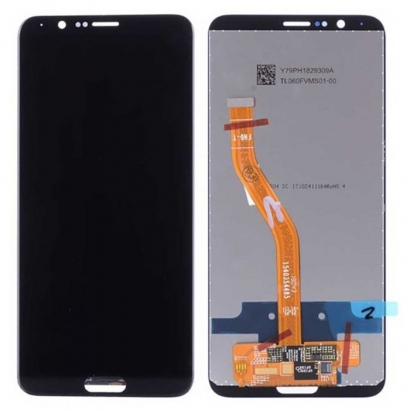 Display lcd + touch completo senza frame per Huawei wiew 10 / honor v10 nero