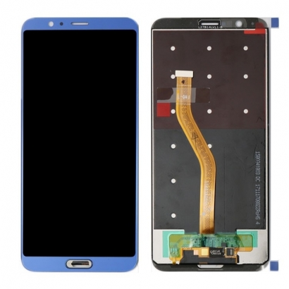 Display lcd + touch completo senza frame per Huawei wiew 10 / honor v10 blu