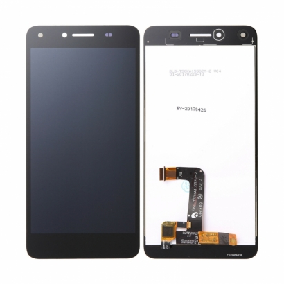 Display lcd + touch completo senza frame per Huawei honor 5 play originale nero