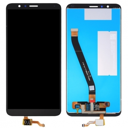 Display lcd + touch completo senza frame per Huawei honor 7x nero