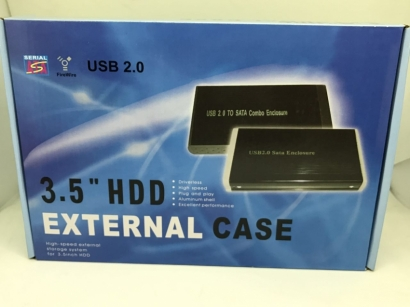 "Ita box case esterno per HDD 3 5"" usb 2.0 sata mobile disk"
