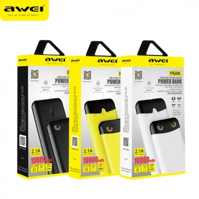 Awei p68k powerbank 10000mAh