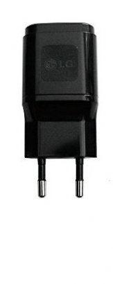 LG Alimentatore usb Travel caricatore nero 2.0A in bulk