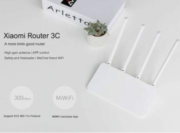 Xiaomi Router 3C WiFi Repeater 300 Mbps a 2,4 GHz 16 MB Rom Router Wireless Repetidor Wi-Fi Roteador