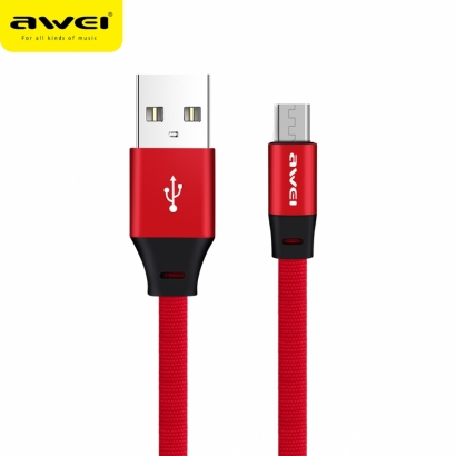 AWEI CL-98 CAVO MICRO USB ROSSO