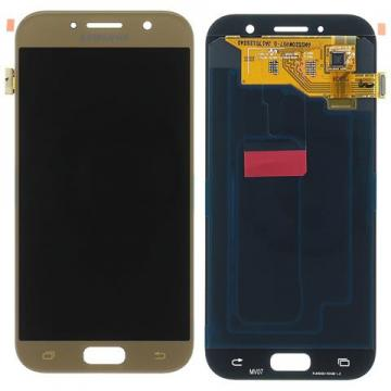 TOUCHSCREEN + DISPLAY LCD DISPLAY COMPLETO SENZA FRAME PER SAMSUNG GALAXY A5(2017) A520F ORIGINALE
