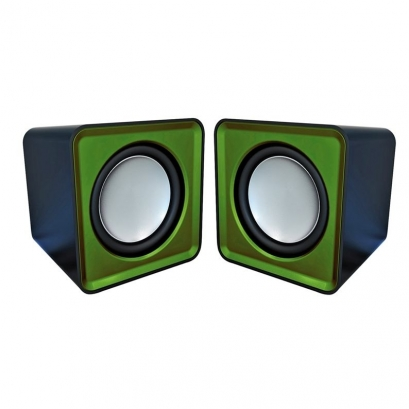 Omega surveyor OG01 speakers 2.0, 6w, rms, verde