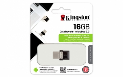 Kingston dtduo 16GB otg flash drive 3.0