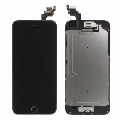 DISPLAY IPHONE 6S PLUS NERO ORIGINALE