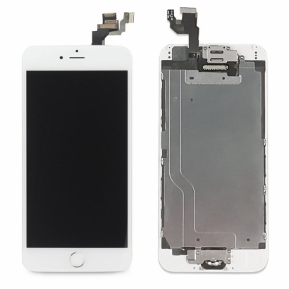 DISPLAY IPHONE 6S PLUS BIANCO ORIGINALE