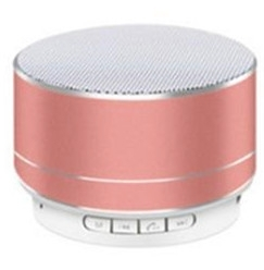 A10u mini cassa audio bluetooth rosa