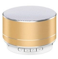 A10u mini cassa audio bluetooth oro