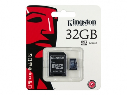 Kingston memoria card microsd class 4 32GB