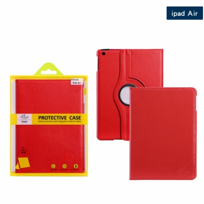 Ellie FG102 custodia cover libro Ipad/5 air rosso