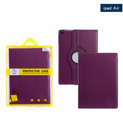 Ellie FG102 custodia cover libro Ipad/5 air viola