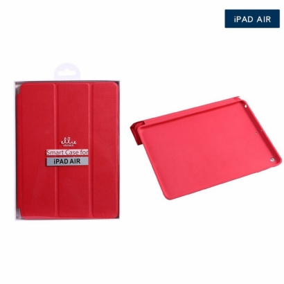 Ellie OG103 smart cover per ipad air rosso
