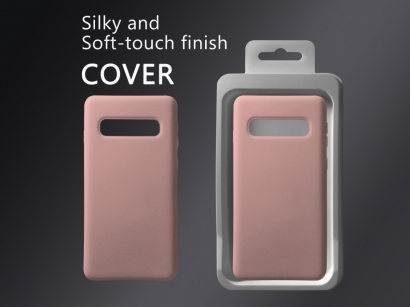 Cover 04 custodia in silicone per Samsung Galaxy S10
