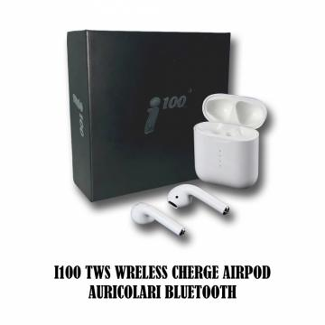 I100 TWS Airpod Auricolari I100 TWS Wreless Cherge Airpod Auricolari Bluetooth 5.0 per iPhone - Android5.0 per iPhone - Android