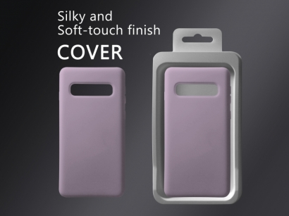 Cover 04 custodia in silicone per Samsung Galaxy S10 lavanda #9