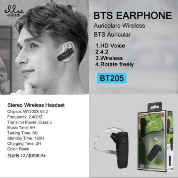 ELLIE BT205 BTS EARPHONE AURICOLARE WIRELESS