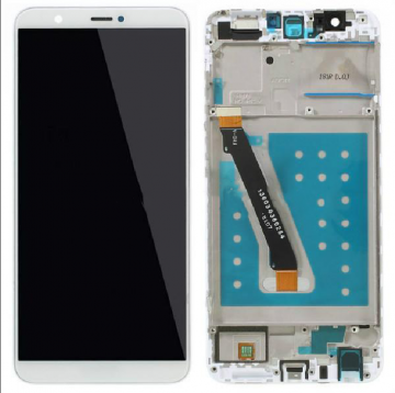 TOUCHSCREEN + DISPLAY LCD DISPLAY COMPLETO + FRAME PER HUAWEI P SMART / ENJOY 7S