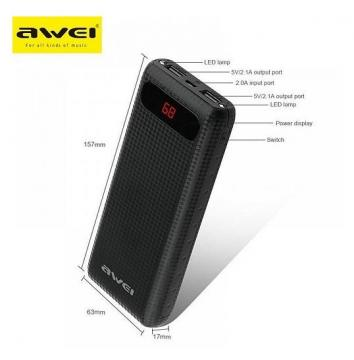 Awei P70K 20000mAh Power Bank