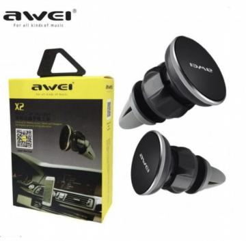 Awei X2 vent car holder universal for mobile phone ,tablets and navigator