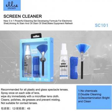 Ellie SC101 screen cleaner 3 in 1