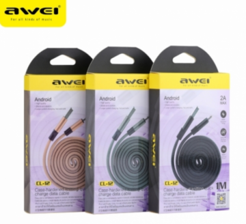Awei cl-12 cavo microusb 1m