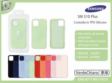 Cover in TPU silicone cover mania  per samsung s10 plus