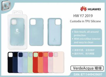 Cover in TPU silicone cover mania per huawei y7 2019