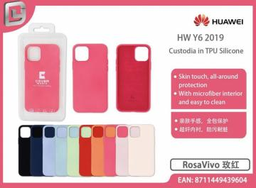 Cover in TPU silicone cover mania per huawei y6 2019