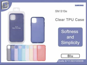 Cover per samsung s10e clear TPU case