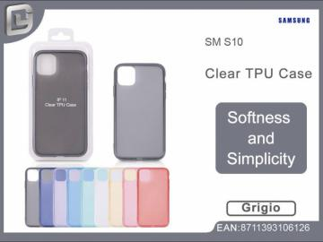 Cover per samsung s10 clear TPU case