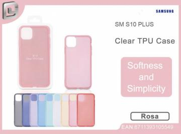 Cover per samsung s10 plus clear TPU case