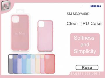 Cover per samsung m30/a40s clear TPU case